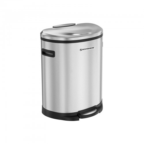 Stainless Steel Trash Can - Trash Can | SONGMICS