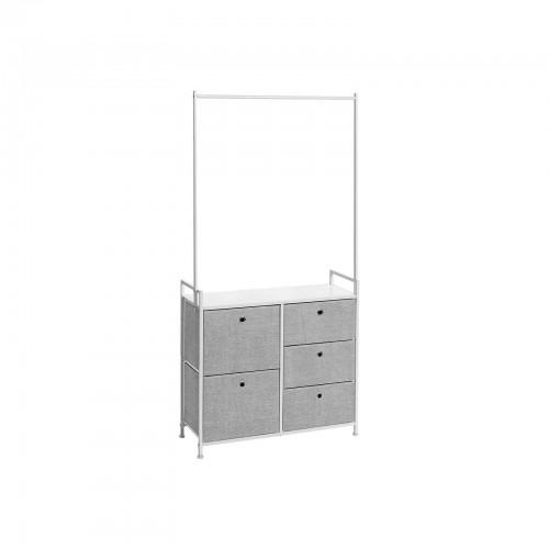 5 Wide Drawers Dresser Dresser Songmics