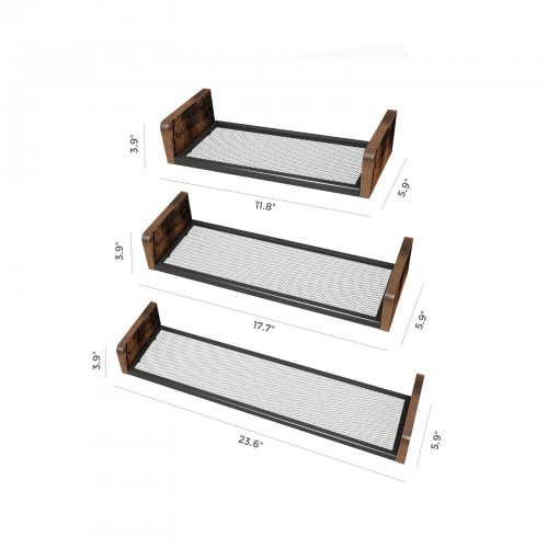 U-Shaped Wall Shelves