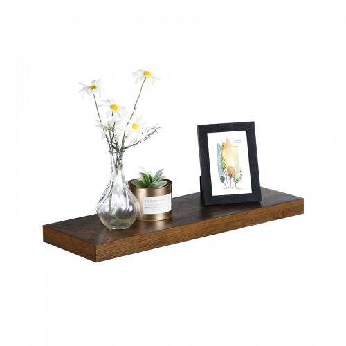 Wood Grain Floating Shelf
