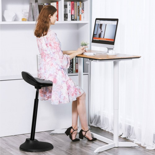 Wondrous Songmics Standing Desk Chair 24 8 34 6 Inches Adjustable Gamerscity Chair Design For Home Gamerscityorg