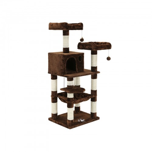 Medium Brown Cat Tree
