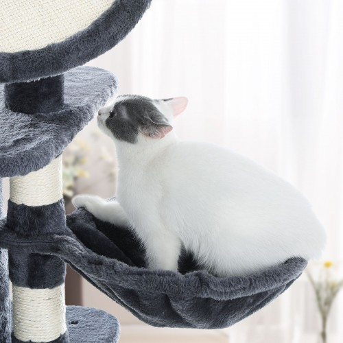 Medium Grey Cat Tower