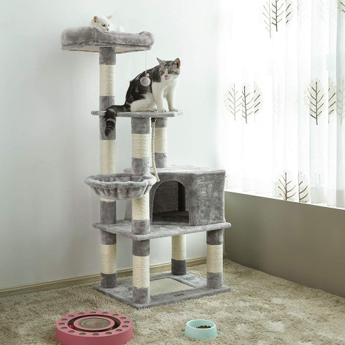 Light Grey Cat Tree