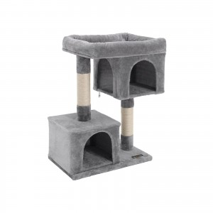 Small Grey Cat Tree