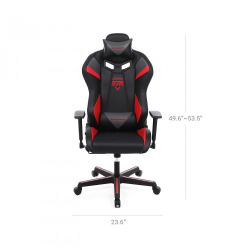 Grey Headrest Gaming Chair
