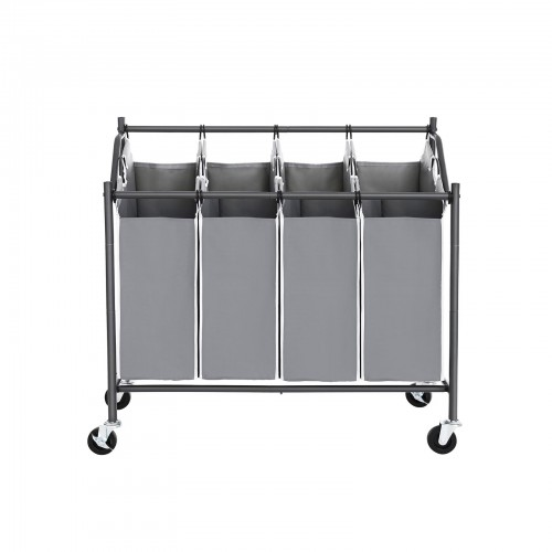 Removable Bag Laundry Cart