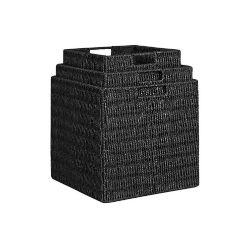 Wicker Style Storage Boxes