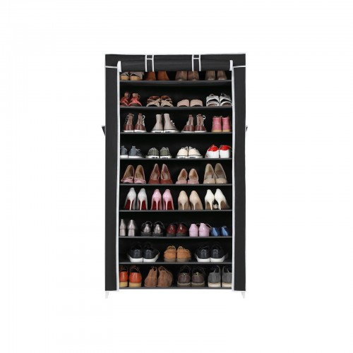 Black Enclosed Cabinet Organizer