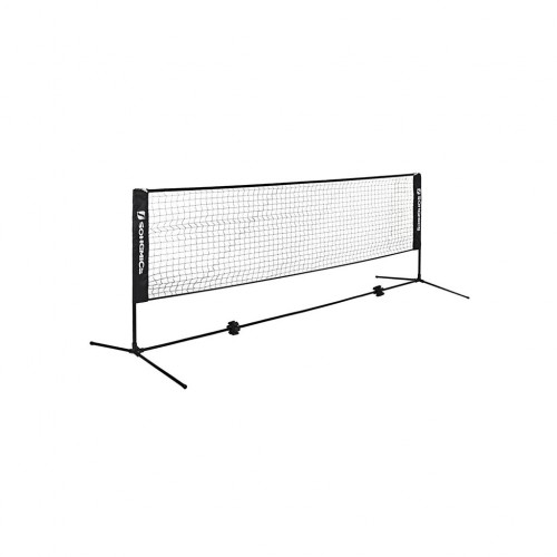 Black Badminton Net
