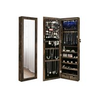 Rustic Brown Jewelry Cabinet