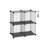 Stackable Metal Wire Cube