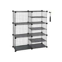 Metal Cube Storage Unit