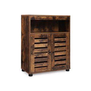 Industrial Storage Side Cabinet for Bathroom
