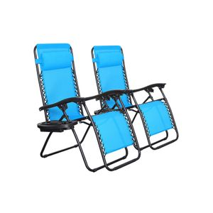 Blue Outdoor Lounge Chairs