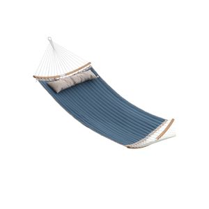 Quilted Hammock with Hanging Straps