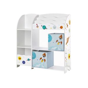 Kids' Toy and Book Organizer