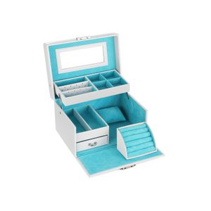 Blue Velvet Jewelry Box