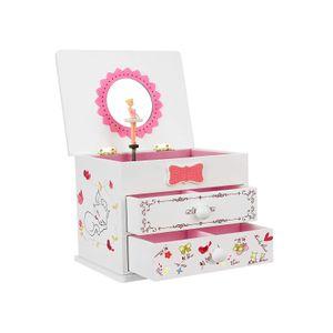 White Music Jewelry Box
