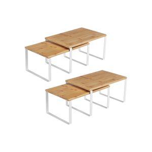 Stackable Kitchen Counter Shelves