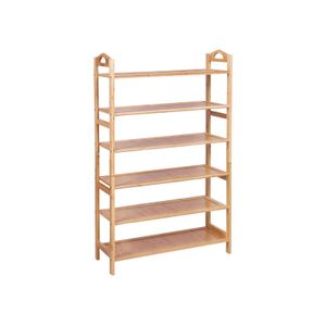Bamboo Shoe Rack