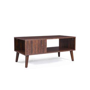 Storage Shelf Coffee Table
