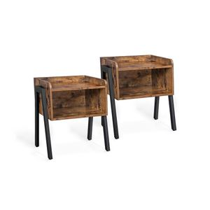 Set of 2 Stackable End Table