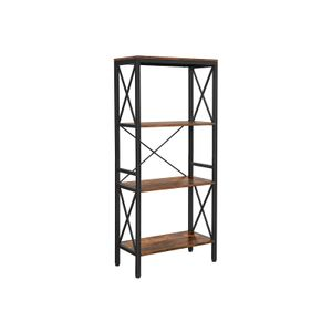 4 Open Shelves Bookcase