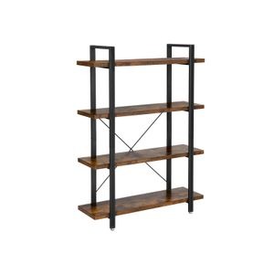 4-Layer Industrial Standing Shelf