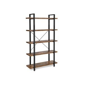 5-Layer Industrial Bookshelf