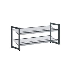 Metal Mesh Shoe Shelf