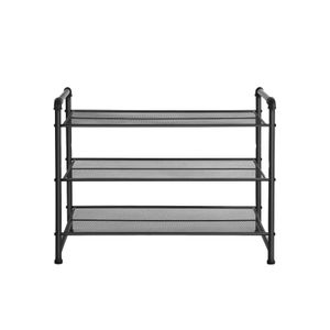 Matte Black Shoe Rack