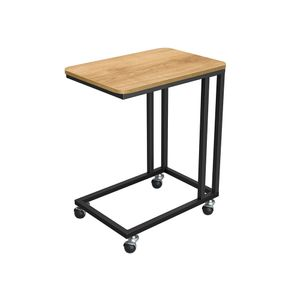 End Table Honey Brown and Black