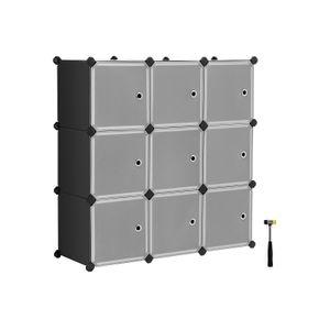 9 Cubes Modular Bookcase