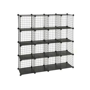 Metal Wire Cube Organizer