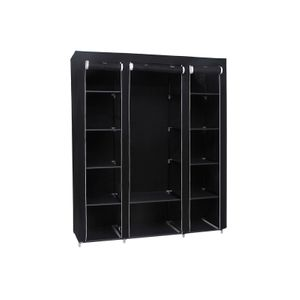 Black Portable Clothes Closet