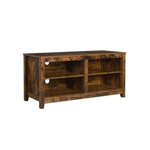 TV Stand with Open Shelves