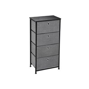 4 Fabric Drawers Cabinet