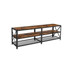 Industrial 3-Tier TV Stand