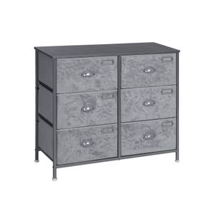 6 Drawers Fabric Dresser