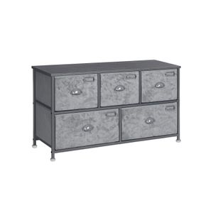 5 Drawers Fabric Dresser