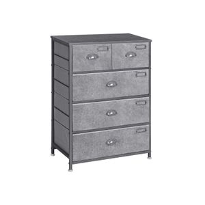 5 Drawers Tall Dresser