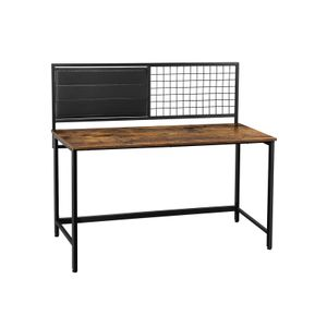 Computer Desk with Grid Board