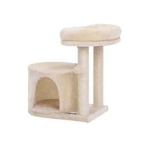 Beige Condo Cat Tree