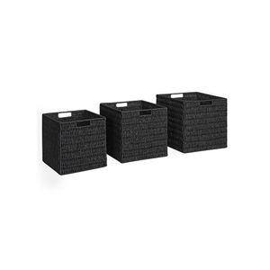 Wicker Style Storage Boxes