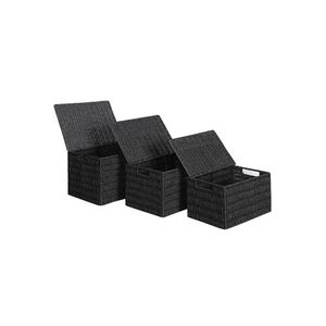 Wicker-Style Storage Organizers