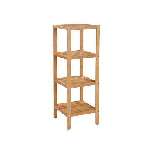 Bamboo Bathroom Storage Rack