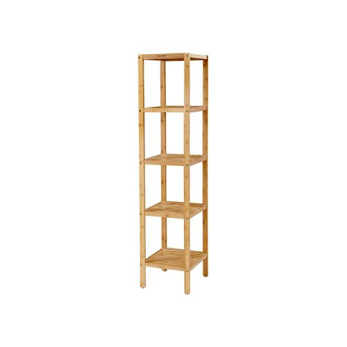 Bamboo Bathroom Storage Shelf