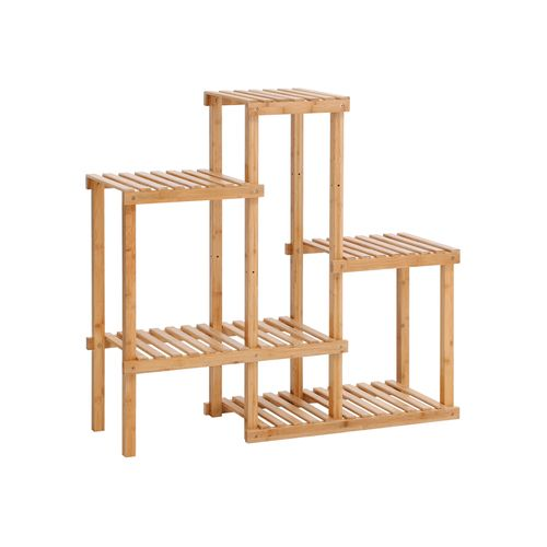 Bamboo Multi Storage Rack