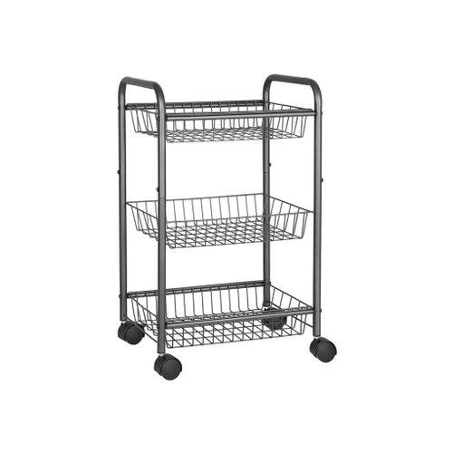 Lockable Kitchen Utility Trolley